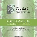 """100g Original Japan-Matcha for Cooking green """"Special Edition"""" - (Original Grüntee) Ideal zum Kochen, Backen und für Mixgetränke"""