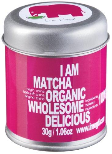 30g Love Blend original BIO Matcha - Gold Prämiert 2014 - original 100% Bio-Matcha -Premiumqualität, vegan - blitzschneller Versand