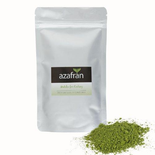 BIO-Matcha Tee Pulver (100g) - Premium for Cooking aus Japan von Azafran®