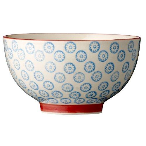 Emma bowl w. pattern. d19xh9cm