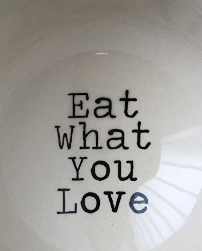 Bloomingville Julie Schale Eat what you love SET of 2
