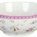 Clayre & Eef, Schale, Schüssel, Keramik,rund, romantisches Rosenmotiv, 16 cm Durchmesser