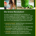 Das Grüne Smoothies 1x1: 101 Rezepte zum Abnehmen, Entgiften & Entschlacken (Rohkost, Smoothie & Detox Rezepte)