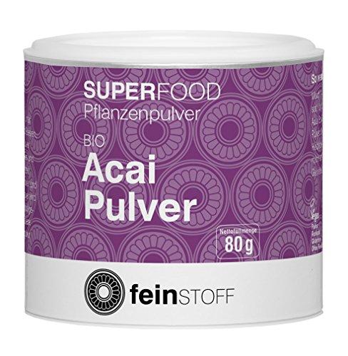Feinstoff Bio Acai-Pulver, 80 g