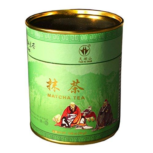 Grüner Tee Pulver 80g (China) Ideal zum Backen, für Eis, Tee...