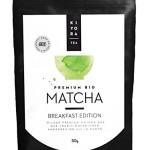 Kiyora Tea Bio Matcha Grüntee-Pulver aus Uji in Kyoto, Japan Breakfast Edition, 1er Pack (1 x 50 g)
