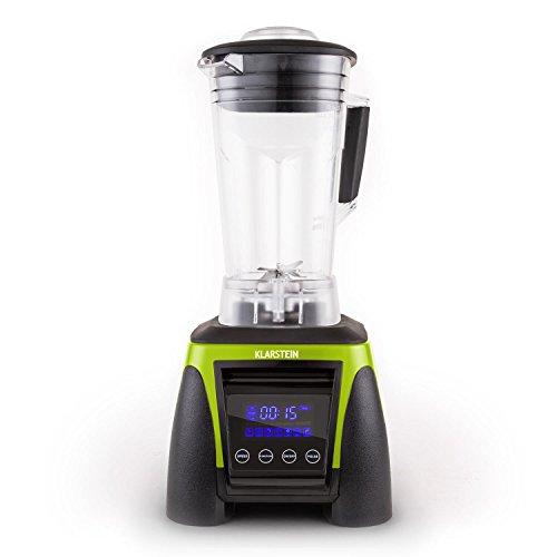 Klarstein Herakles-8G-G Profi Küchenmixer Universal-Standmixer Smoothie Mixer (1800W, 2 Liter, 38.000 U/min, BPA-frei, Timer, Pulsfunktion) grün