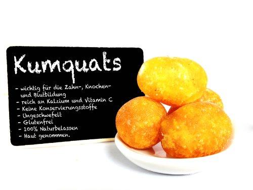 """Kumquats - kandiert - Kumquat - getrocknet - reich Kalzium und Vitamin C - """"premium Qualität"""" - EXCLUSIVE - Nüsse - Trockenfrüchte - Gewürze - 250g"""