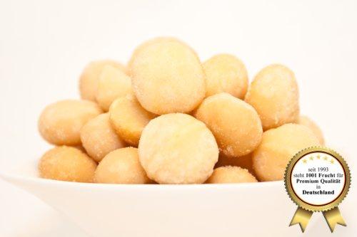 """Macadamia Nüsse, roh und naturbelassen - ohne Geschmacksverstärker """"schön Knackig - Premium Qualität"""" - 1001 Frucht - EXCLUSIVE - Nüsse - Trockenfrüchte - Gewürze - 1 KG"""