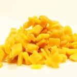 """Mango, gehackt, gewürfelt, kandiert - Perfekt fürs Müsli, zum Backen oder einfach so zum naschen - 1001 Frucht - """"Premium Qualität"""" - EXCLUSIVE - Nüsse - Trockenfrüchte - Gewürze -250 GR"""