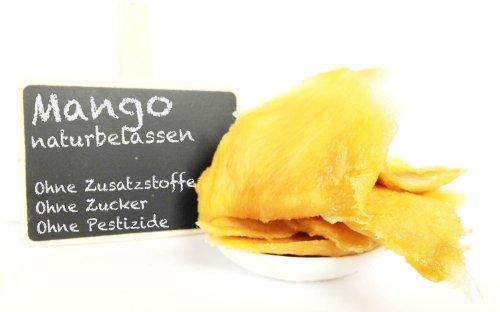 """Mango, getrocknet - """"PREMIUM QUALITÄT"""" - """"Das sind die allerbesten, überzeugen Sie sich selbst"""" - 1001 Frucht - EXCLUSIVE - Nüsse - Trockenfrüchte - Gewürze - 500 GR"""