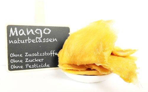 """Mango, getrocknet - """"PREMIUM QUALITÄT"""" - Ohne Zusätze - Ohne Zucker - Naturbelassen - 1001 Frucht - EXCLUSIVE - Nüsse - Trockenfrüchte - Gewürze - 1 kg"""