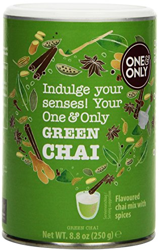 One&Only Green Chai Powder mit Matcha 250g Dose, 1er Pack (1 x 250 g)