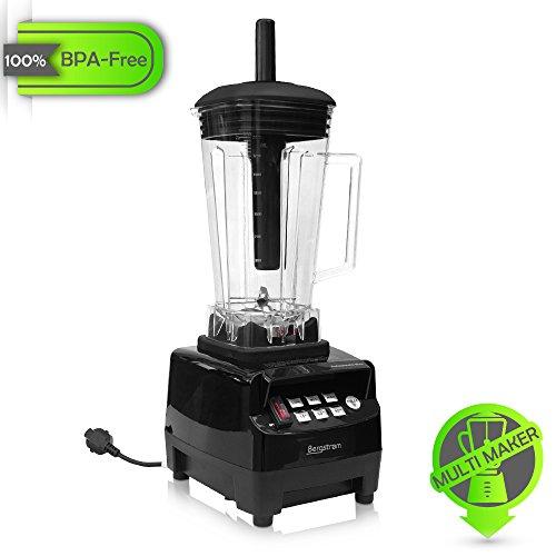 Profi Smoothie Maker 2L BPA Frei 11.000 U/min Shaker Milchshaker Kuechenmaschine Universal Mixer Smoothies Standmixer 2 Liter Ice Crusher