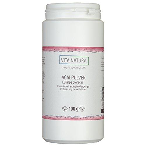 Reines Acai Pulver Premium 100g