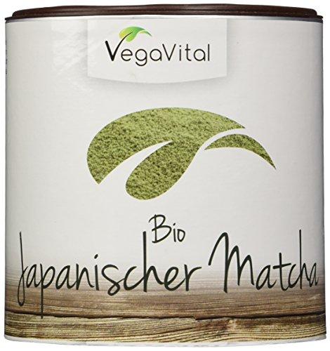 Vegavero Bio Matcha Tee aus Japan 100 g | Matcha-Grüntee in Premium-Qualität | Grüner Tee in Aroma-Schutzdose | für Ihr Wohlbefinden | Vegan