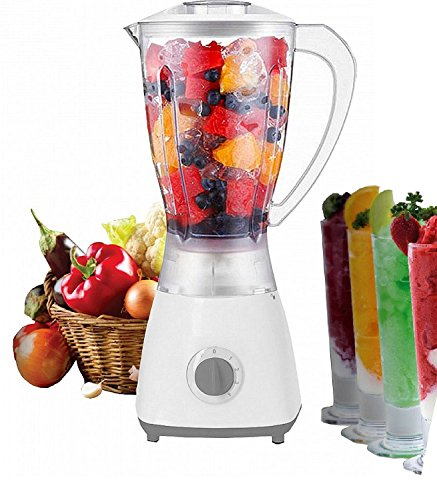 5 Stufen Standmixer 450 Watt Smoothie Maker Mixer 1,5 Liter Shaker