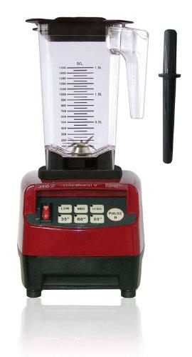 JTC Omniblend Standmixer Rot, Hochleistungsmixer, Blender 1,5 L, 38.000 U/min, ideal für Smoothies