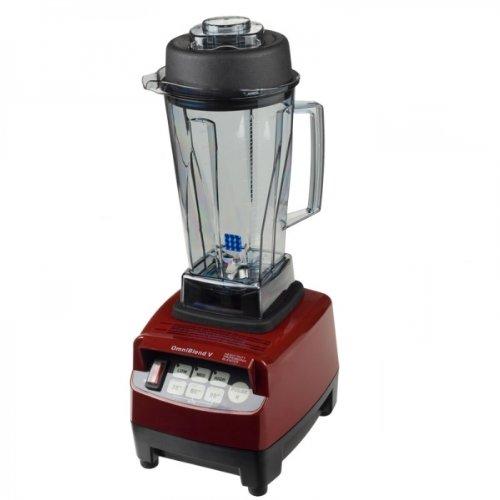 JTC Omniblend Standmixer Rot, Hochleistungsmixer, Blender 2,0 L, 38.000 U/min, BPA Frei