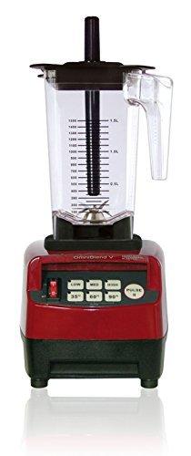 Omniblend V Mixer Standmixer Blender Smoothie Maker 1,5 Liter, JTC TM-800 Hochleistungsmixer Behälter BPA-frei (Rot/Maron, 1,5 Liter)