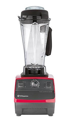 Vitamix VTX TNC5200 RD Total Nutrition Center Power Mixer und Entsafter, Rot