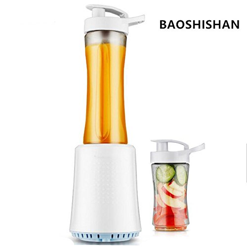 BAOSHISHAN Saftmaschine, 600 ml + 300 ml, Smoothie-Mixer, 220 V