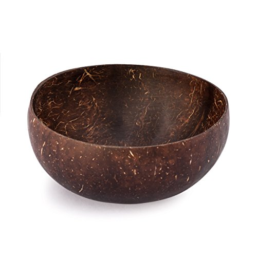 Cocobowl Nature - 100% Natürliche Kokosnuss Schale