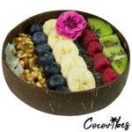 Cocovibes Kokosnuss Schale | Buddha Bowl | Deko Schüssel - 100% Natürlich (poliert) Handgemacht und Umweltfreundlich