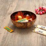Essort Kokosnussschale, dekorativ, natürlich, Mosaik, handgefertigt