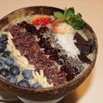Mamatura Kokosnuss-Schale | 2er Set | Cocobowl Lebensmittelecht | 100% Natürlich | Handarbeit